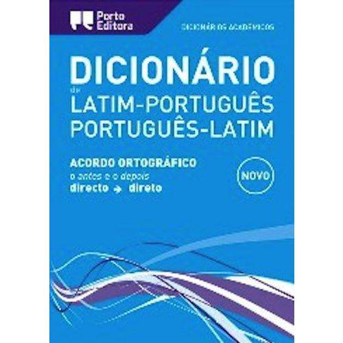 Dicionario Academico de Latim-Portugues / Port-Lat