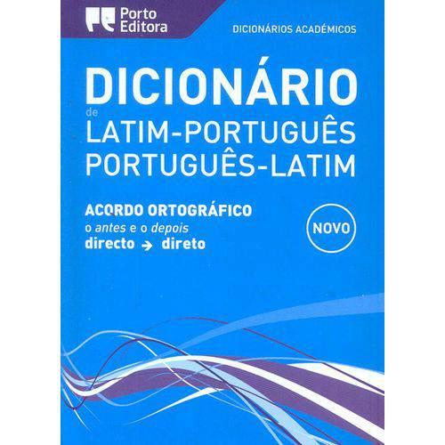 Dicionário Académico de Latim Português Português Latim