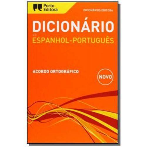 Dicionario de Espanhol Portugues Editora