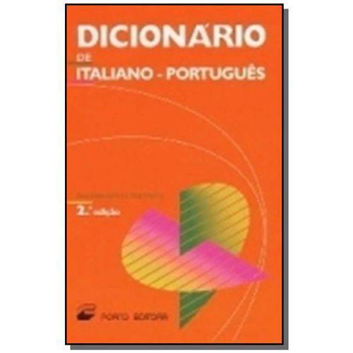 Dicionario de Italiano Portugues Editora
