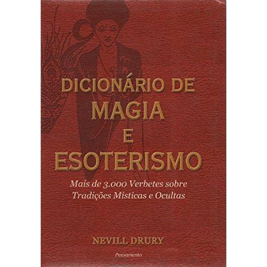 Dicionario de Magia e Esoterismo - Pensamento