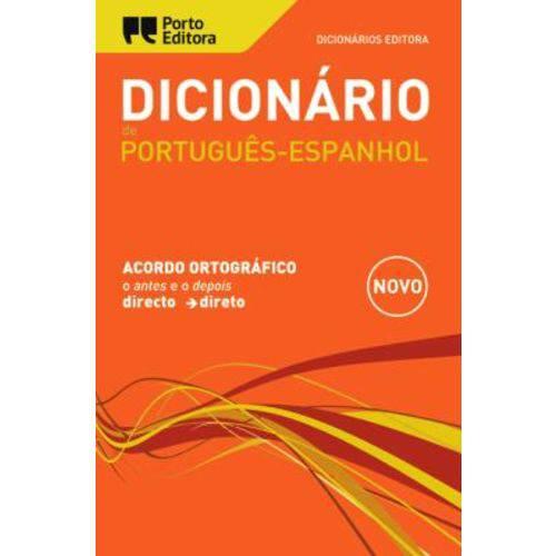 Dicionario Editora de Portugues Espanhol