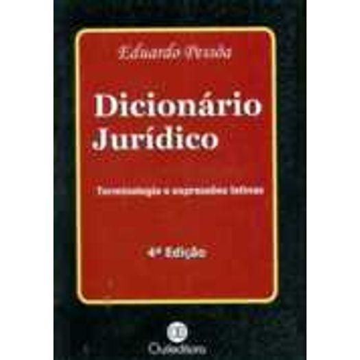Dicionario Juridico - Quileditora