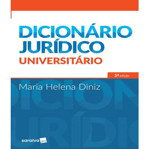 Dicionario Juridico Universitario - 03 Ed