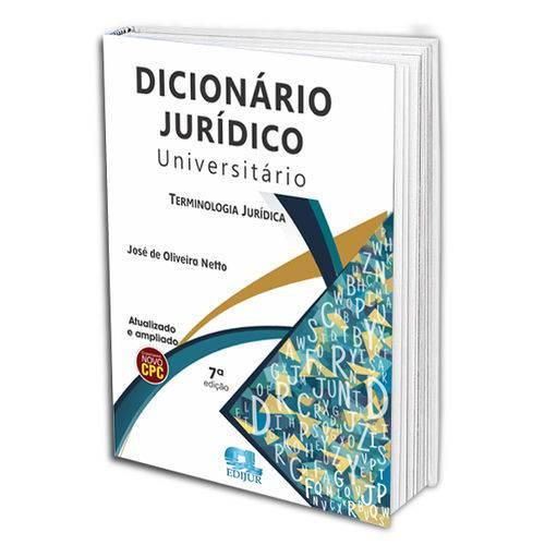 Dicionário Jurídico Universitário 7ª Ed