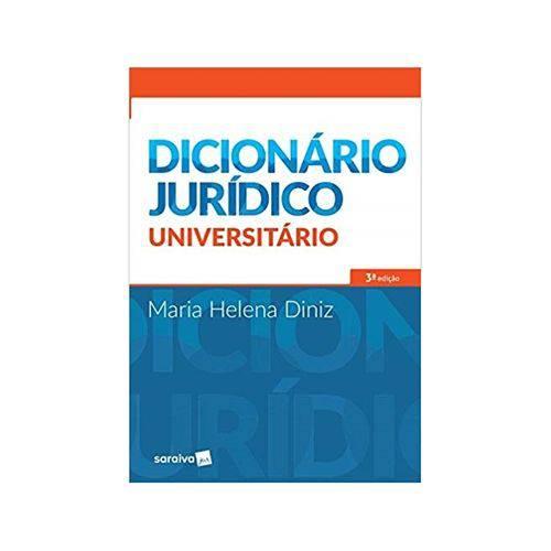 Dicionário Jurídico Universitário 3ªed. - Saraiva