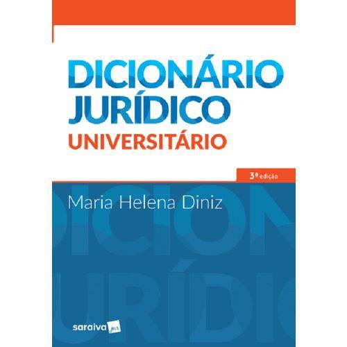 Dicionario Juridico Universitario - Saraiva