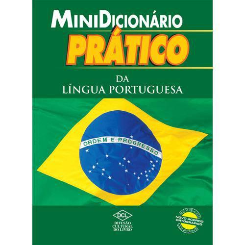 Dicionario Mini Portugues Lingua Portuguesa Pratico 320p Dcl