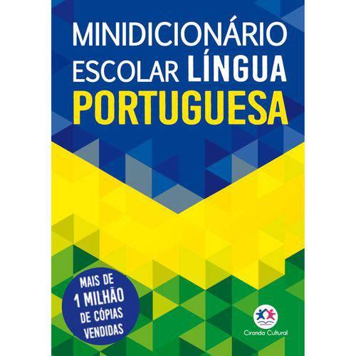 Dicionario Mini Portugues Nova Ortografia Ciranda das Letras