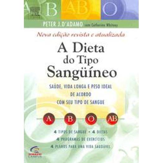 Dieta do Tipo Sanguineo, a - Campus