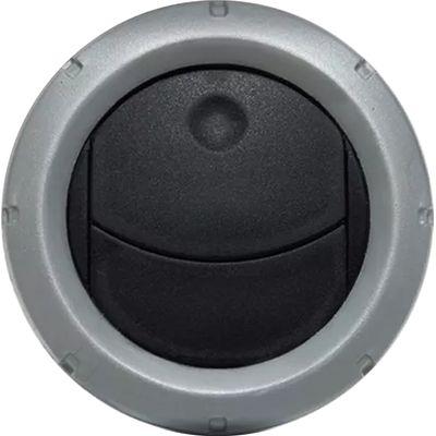 Difusor de Ar Ecp 08/13 Central/Lateral (Autoplast) Aro Prata 60670.28 (AP697)