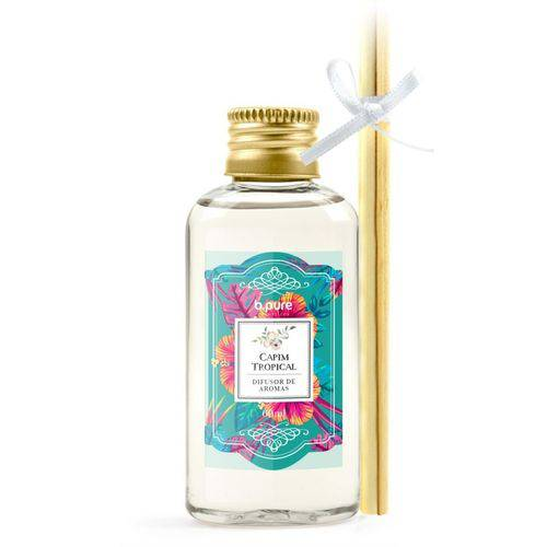 Difusor de Aromas - Capim Tropical - 60Ml