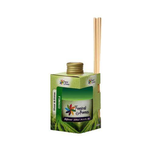 Difusor de Aromas Citronela 250ml Tropical Aromas