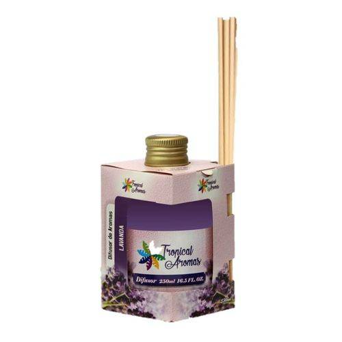 Difusor de Aromas Lavanda 250ml Tropical Aromas