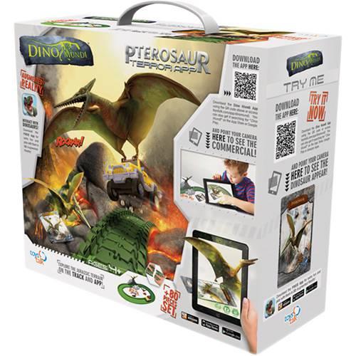 Dino-Mundi Ataque Pterossauro 80 Peças - Fun