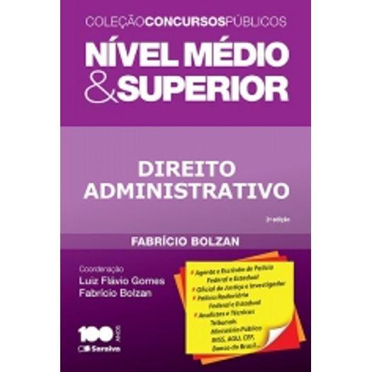 Direito Administrativo - Nivel Medio e Superior - Saraiva