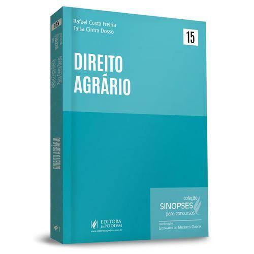 Direito Agrario - Sinopses para Concursos - Vol 15 - Juspodivm