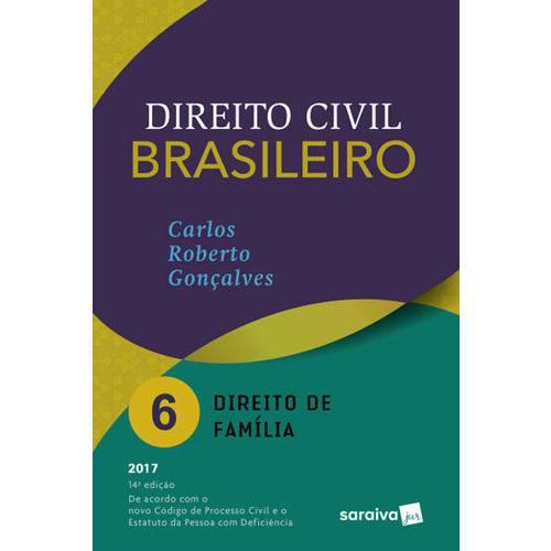 Direito Civil Brasileiro - Direito de Familia N Vol.6