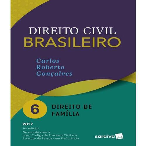 Direito Civil Brasileiro - Vol 06 - Direito de Familia - 14 Ed