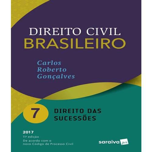 Direito Civil Brasileiro - Vol 07 - Direito das Sucessoes - 11 Ed