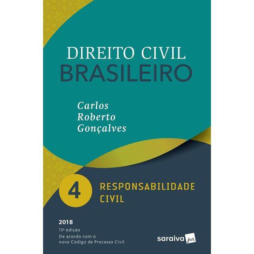 Direito Civil Brasileiro Vol 4 - Goncalves - Saraiva - 13 Ed
