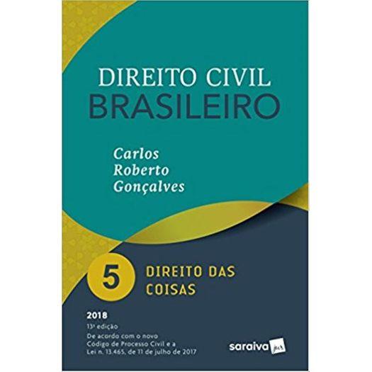 Direito Civil Brasileiro Vol 5 - Goncalves - Saraiva - 13ed