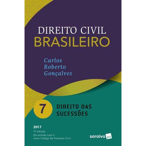 Direito Civil Brasileiro Vol 7 - Goncalves - Saraiva