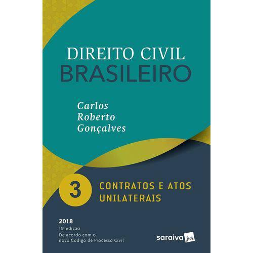 Direito Civil Brasileiro Vol 3 - Goncalves - Saraiva