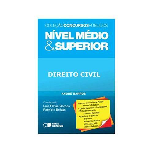Direito Civil - Nível Médio e Superior 1ªed. - Saraiva