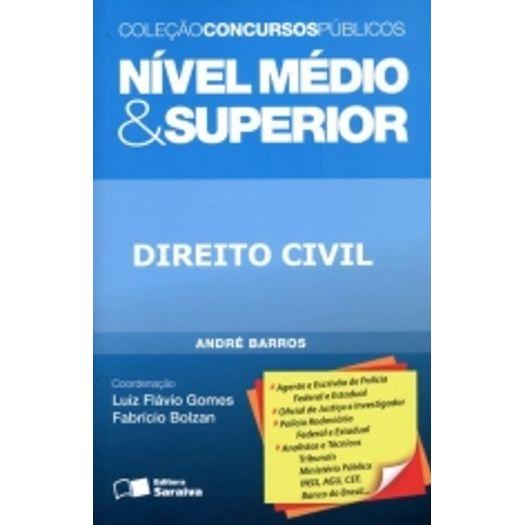 Direito Civil - Nivel Medio e Superior - Saraiva