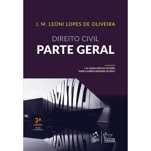 Direito Civil - Parte Geral - 3ª Ed. 2019