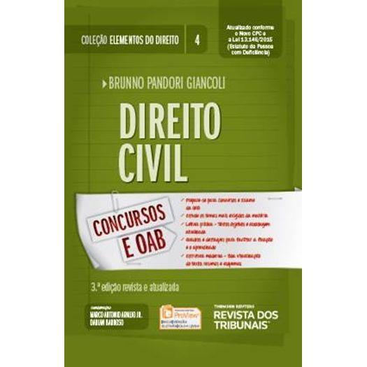 Direito Civil - Vol 4 - Giancoli - Rt