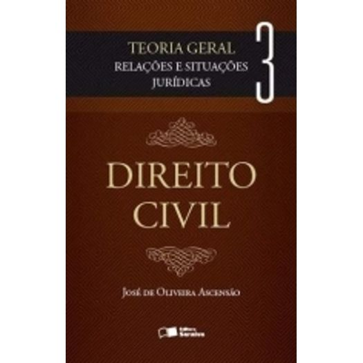 Direito Civil Vol 3 - Ascensao - Saraiva