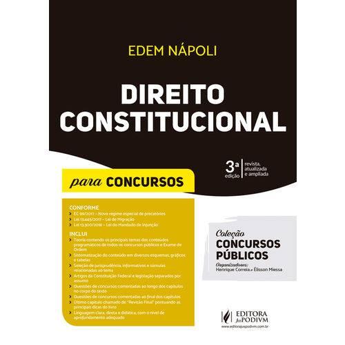 Direito Constitucional 2018