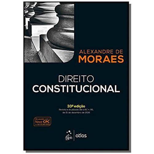 Direito Constitucional - 33a Ed