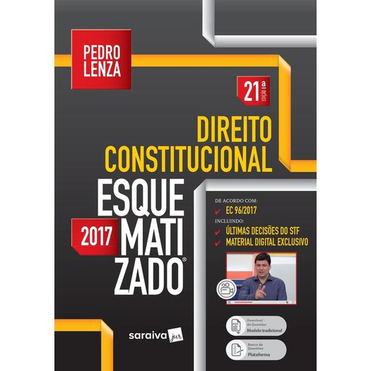 Direito Constitucional Esquematizado - Saraiva - 21 Ed