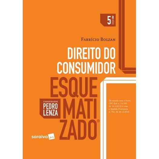 Direito do Consumidor Esquematizado - Saraiva - 5 Ed