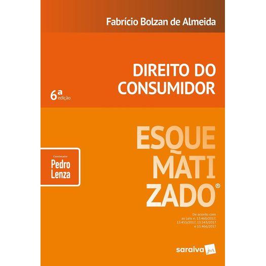 Direito do Consumidor Esquematizado - Saraiva - 6ed