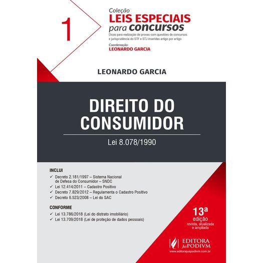 Direito do Consumidor - Leis Especiais para Concursos - Vol 1 - Juspodivm