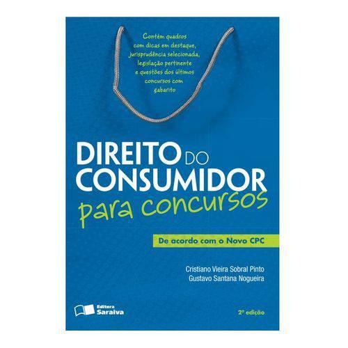 Direito do Consumidor para Concursos - Saraiva