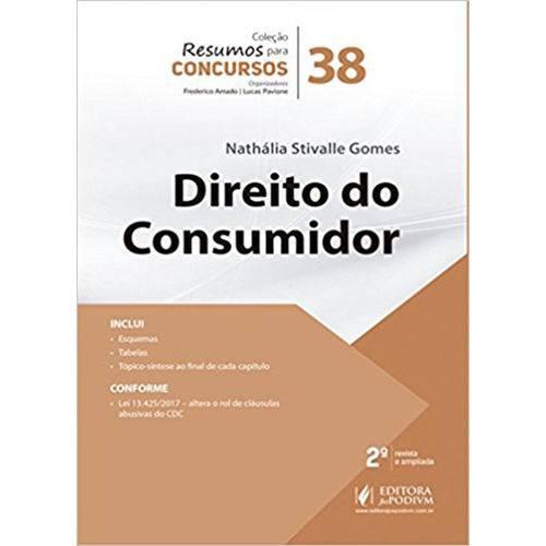 Direito do Consumidor (Volume 38)