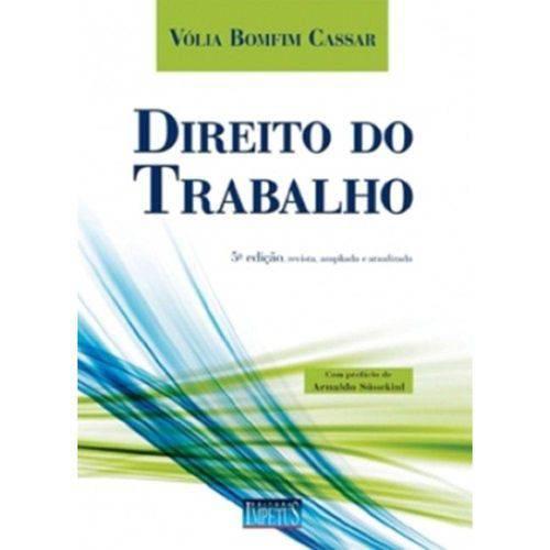 Direito do Trabalho - 5ª Ed. 2011