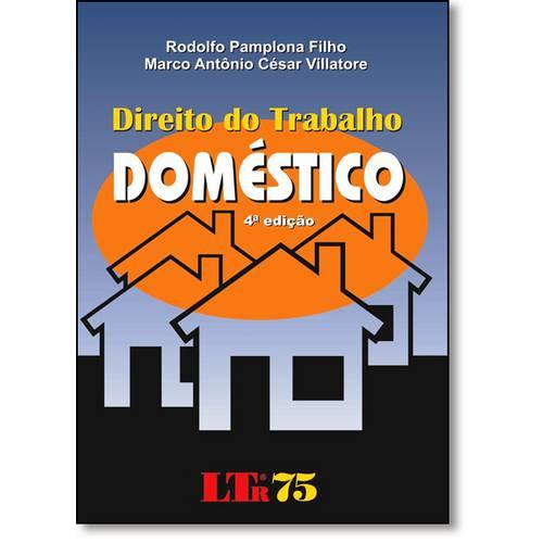 Direito do Trabalho Domestico Procedimento e Legislacao Atualizados