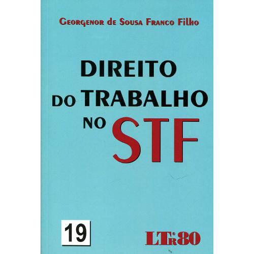 Direito do Trabalho no Stf - Ltr