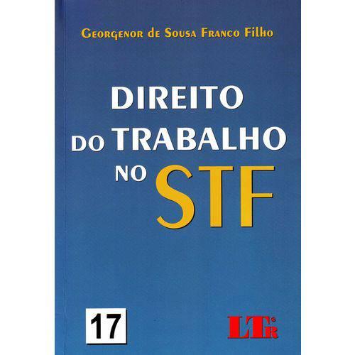 Direito do Trabalho no Stf - Vol. 17/ 14