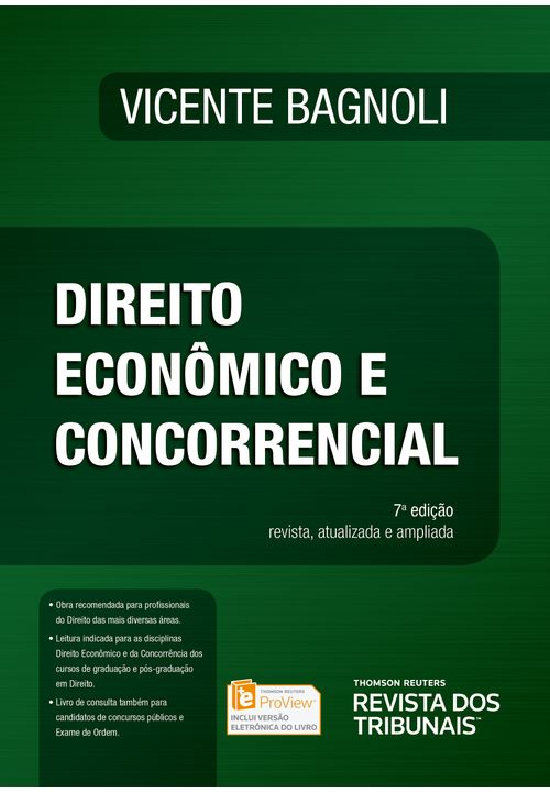 Direito Econômico e Concorrencial - 7ª Edição
