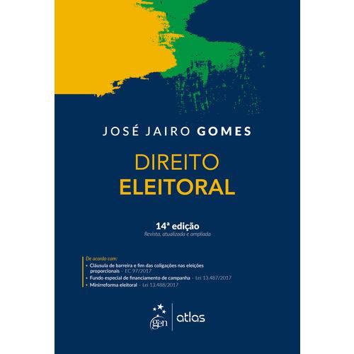 Direito Eleitoral - 14ª Edição (2018)