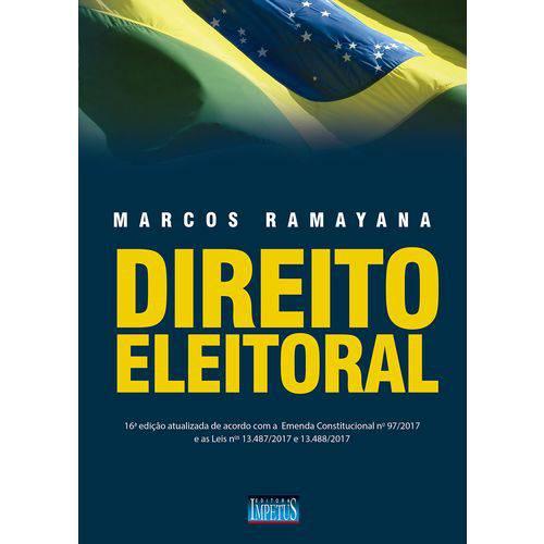 Direito Eleitoral - 16ª Edição (2018)