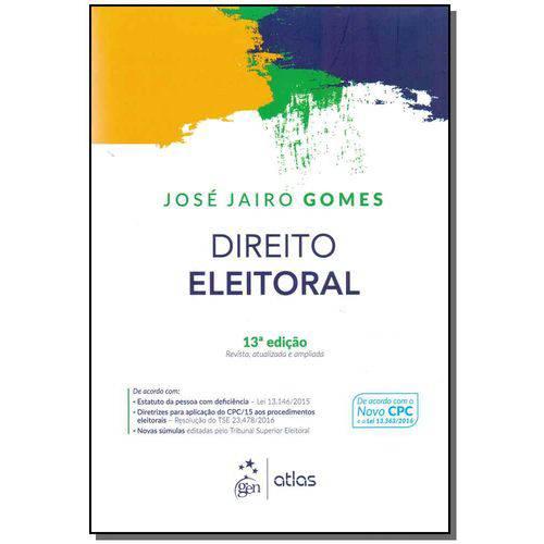 Direito Eleitoral - 13ed/17