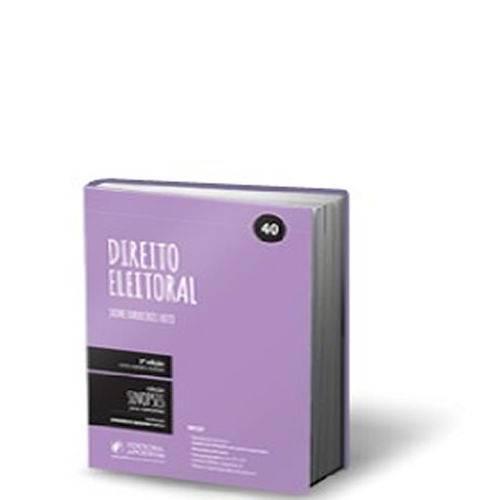 Direito Eleitoral - 5 Ed